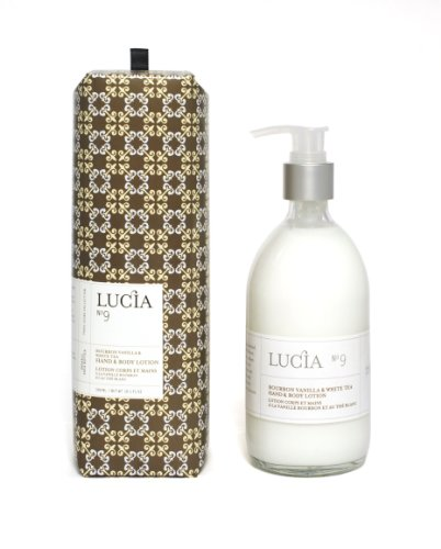 Lucia Hand and Body Lotion, Bourbon Vanilla and White Tea, 10.1 Ounce by AROMASOURCE INC
