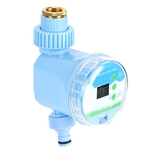 NIMOA Water Controller - Automatischer Gartenwassertimer Wasserdichter Korrosionsschutz Haushaltsbewässerungsregler