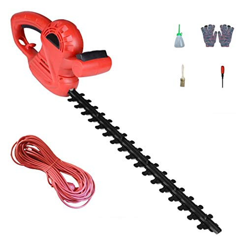 ZXMDP 600W Hedge Trimmers Electric Hedge Trimmers 1500-RPM Cordless Grass Shear, Shrubber Handheld Trimmer Double-Edged SK5 Material
