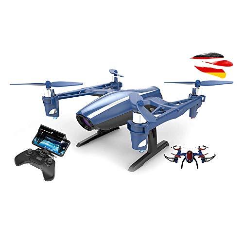 4.5 Kanal RC Ferngesteuerter Mini Quadcopter mit eingebaute FPV WiFi Live HD-Kamera, RTF Komplett-Set inkl. Crash-Kit