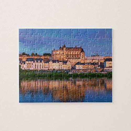 CICIDI Amboise Castle, Loire Valley, France Jigsaw Puzzle 1000 Pieces for Adult Entertainment DIY Toys , Graet Gift Home Decor