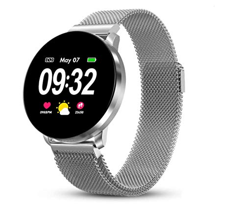 GOKOO Smart Watch for Men Women Fitness Activity Tracker Watch with All-Day Heart Rate Blood Pressure Monitor Sleep Tracker Waterproof Calorie Counter Step Stopwatch Pedometer Sport Smartwatch