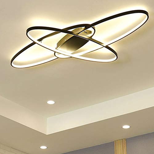 Modern Oval LED Deckenleuchte Deckenlampe Schlafzimmer Küchelampe Dimmbar Decken Pendelleuchte Esszimmer Esstisch...