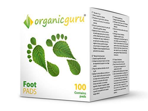 OrganicGuru Fußpflaster zum Entgiften, 50 Tage, 100Stück