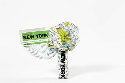 Crumpled City: New York. Soft city maps for urban jungles: Die cleveren Stadtpläne für Großstadtnomaden (Crumpled City Maps)