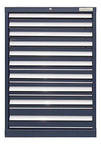 Werkzeugschrank, Schubladenschrank 10 Schubladen, blau