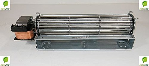 Ventilatore Tangenziale DN 60 ventola cm 30 motore SINISTRO UNIVERSALE