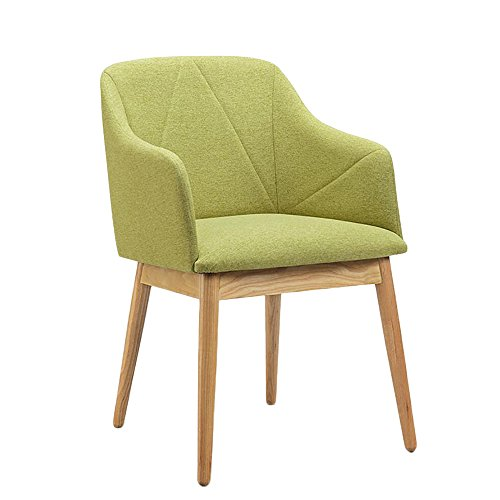 G-Y Sofa Paresseux, Chaise Simple Petit Appartement Balcon Canapé, Chaise D'ordinateur En Tissu (Couleur : Vert)