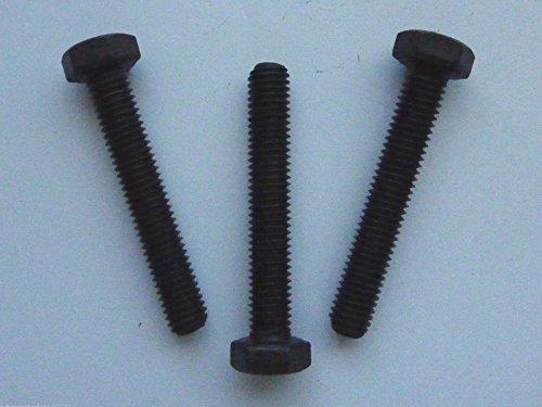 10 Stk DIN 961 Sechskantschraube M12x1,25x60 Feingewinde annähernd bis Kopf - Stahl