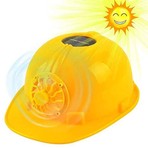 PLOUT Industrie-Schutzhelm Arbeitshelm Außen Baustelle Kopfschutzhelm Schutz Bump Cap for Mann Frauen Worker (Color : Yellow)
