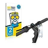 BROTECT Protector Pantalla Completa Compatible con Segway Ninebot KickScooter MAX G30D II (2 Unidades) 3D Curvo