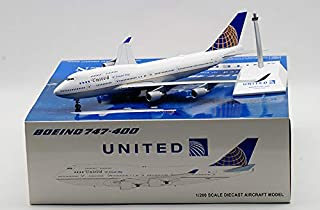 JC Wings 1:200 ユナイテッド航空 B747-400 N118UA