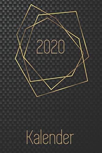 Kalender 2020: Monatsplaner I Familienplaner I Planer Din A5 120 Seiten I 2020 I Wochenplaner I Checkliste I Notizen I Taschenkalender 2020 I ... I Carbon I Kohlenstofffaser I Kohlefaser