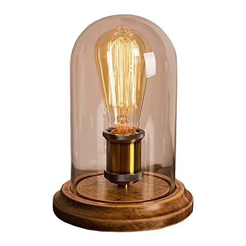 WNN-URG Nórdica de Madera sólida Edison Dormitorio de Noche Caliente de la lámpara Decoración Lámpara de Mesa de atenuación American Country luz Retro URG