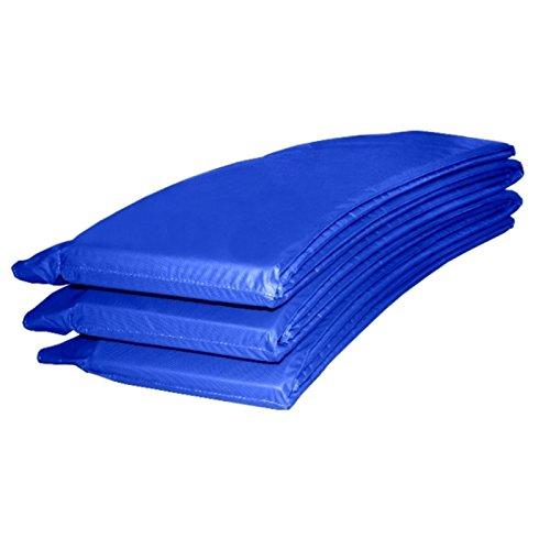Baunsal GmbH & Co.KG Randabdeckung Federabdeckung Randschutz Abdeckung blau für Trampolin 366 bis 370 cm