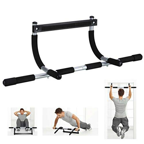 aturustex Pull Up Bar, Doorway Home Exercise Bar Without Screw Installation, Sit Ups and Dips,...