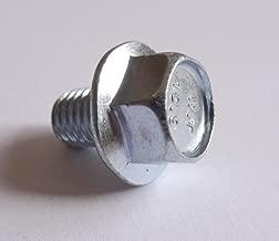 (25) M8-1.25 x 12mm JIS Hex Head Flange Bolt - Small Head, Class 10.9 Zinc