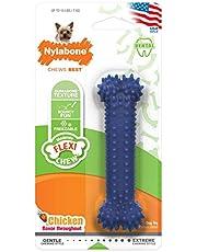 Interpet NX933PEU Nyabone zabawka do żucia dla umiarkowanego żucia, pielęgnacja zębów – smak kurczaka, XS