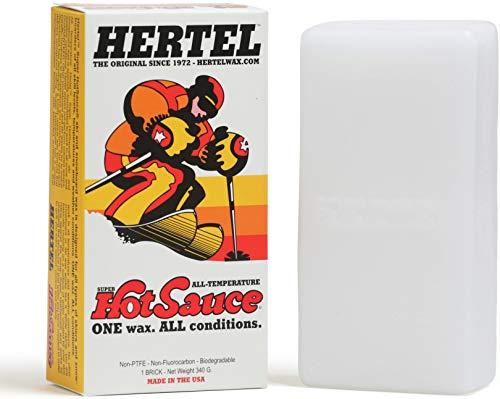 Hertel Super Hot Sauce   Ski and Snowboard Wax
