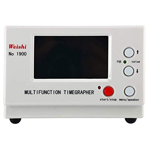 Kacsoo Timegrapher NO.1900 Uhrentimer Multifunktionstester Reparaturwerkzeuge Tester, Uhr Timing Maschine Timegrapher Mechanisch