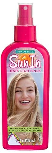 Sun In Tropical Breeze Hair Lightener. Enrichi D'aloès, De Camomille, De Souci Et De Graines De Lin. Sans Alcool. Parfum De Brise Tropicale. 138 Millilitres