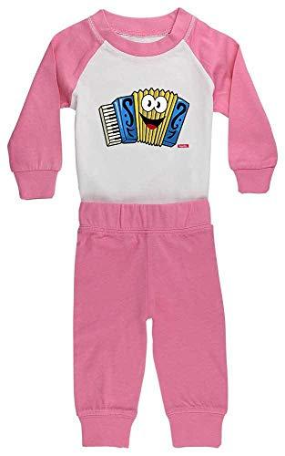 Hariz Baby Pijama Acordeón sonriente instrumento niño