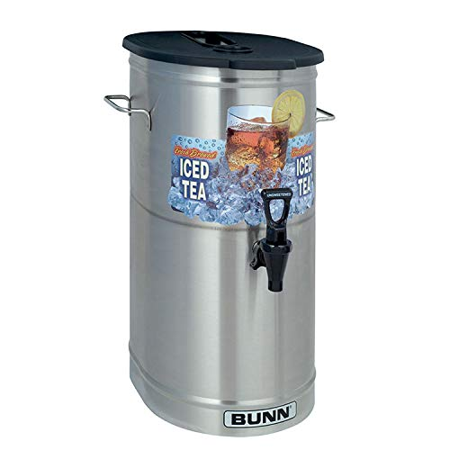 Why Choose BUNN 4-Gal. Iced Tea/Coffee Dispenser 34100.0002 Grey
