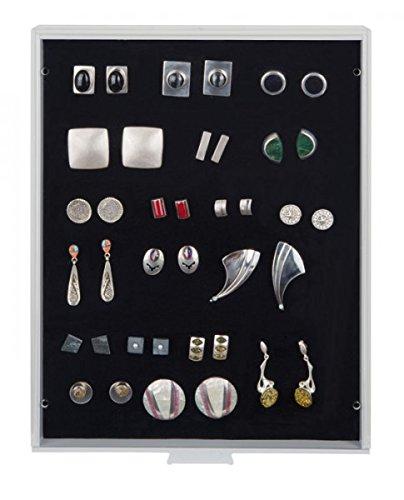 LINDNER Das Original Sammelbox Standard mit schwarzer Schaumstoffeinlage für PINs / Orden / Abzeichen
