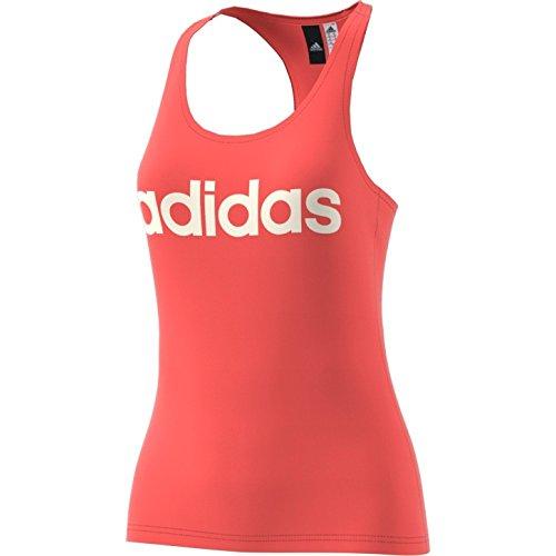 adidas Ess Li Sli Tank Camiseta, Mujer, Naranja (Corsen), 2XS