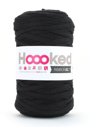 Hoooked Ribbon - Filato XL Nero