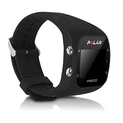 kwmobile Armband kompatibel mit Polar A300 Armband - Silikon Fitnesstracker Sportarmband Band