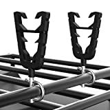 kemimoto Gun Mounts for ATV, Bow Rack Tools Holder with Rubber Straps Compatible with ATV Mobility Scooter Hunting Bike Shooting Carts