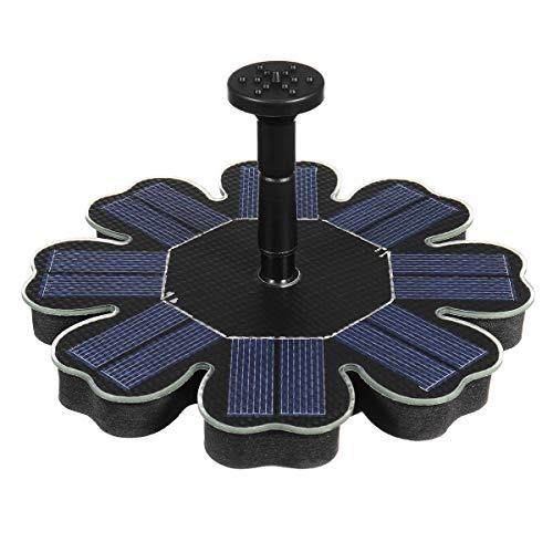 MNAD IP68 180L/H 1,4 W Kit de bomba de fuente alimentada con energía solar para piscinas a la deriva estanques de jardín sin escobillas de agua (color # 02)