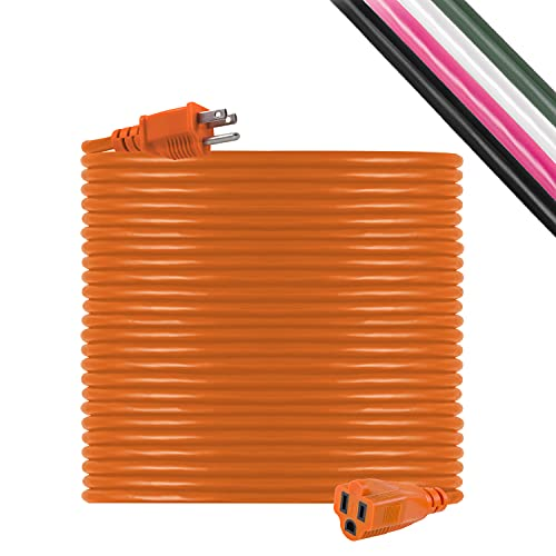 UltraPro 100 Ft Extension Cord, Double Insulated,...