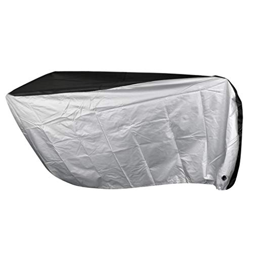 B Baosity Portable Bike Covers Outdoor UV +50 Dustproof Rainproof Bicycle Cover Protector with Carry Bag - XL