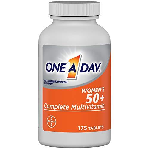 One A Day Women's 50+ Multivitamins, Supplement with Vitamin A, Vitamin C, Vitamin D, Vitamin E...