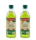 Violi Mediterranean Blend (Italian Sunflower and Extra Virgin Olive Oil) 1 Liter (Pack of 2)