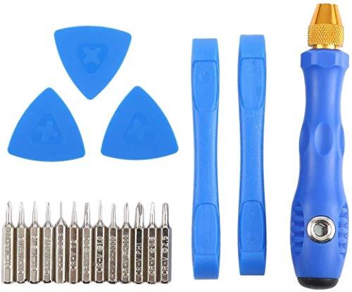 BBGSFDC Fuerte 20 en 1 Destornillador de la reparación portátil Profesional de los Kits de Herramienta Undefendable reemplazar Las Piezas Flexible.