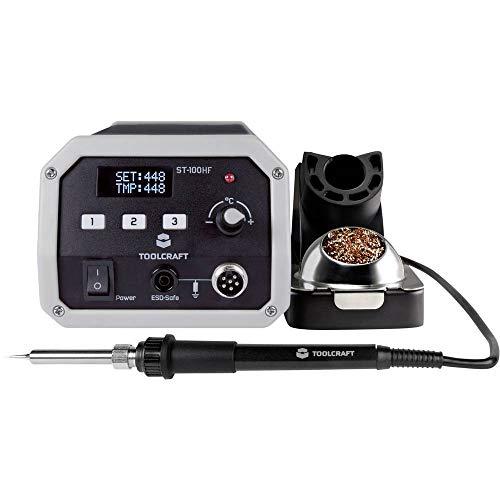 TOOLCRAFT ST-100 HF Hochfrequenz-Lötstation digital 100 W 50 bis 480 °C inkl. Lötspitze
