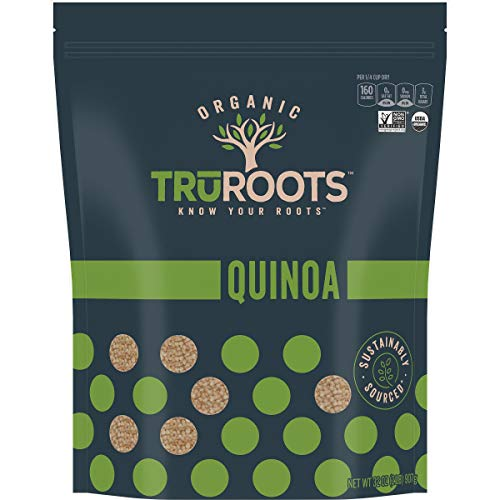 TruRoots Organic 100% Whole Grain Quinoa, 32 Ounces