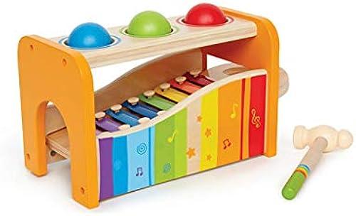 LINGLING-klopfen am klavier Handklopfen am Klavier Kind Xylophon Acht-Ton p gogisches Spielzeug Geschenk (Größe   Three Balls)