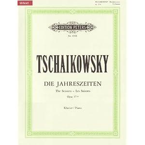 Die Jahreszeiten op. 37a (37bis): 12 Charakterstücke für Klavier (URTEXT)