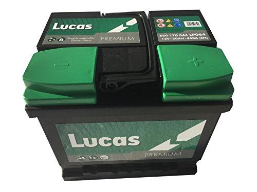 Lucas Batterie Voitures Premium LP064 LB1 12 V 50AH 440 AMPS (EN)