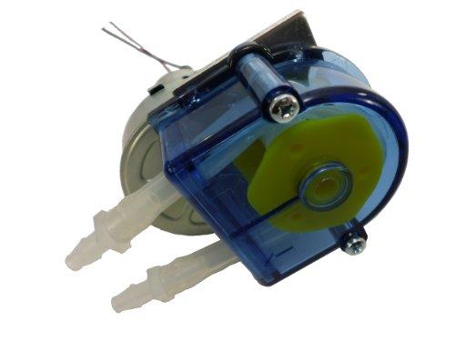 Simply Pumps PM200N Peristaltic Industrial Grade Self Priming Dosing Dispensing and Metering Pump with Norprene Industrial Tubing, 12V DC, 300 mL/min