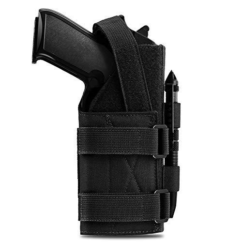 Pvnoocy Molle Pistol Holster for 9mm 1911 Glock Universal...