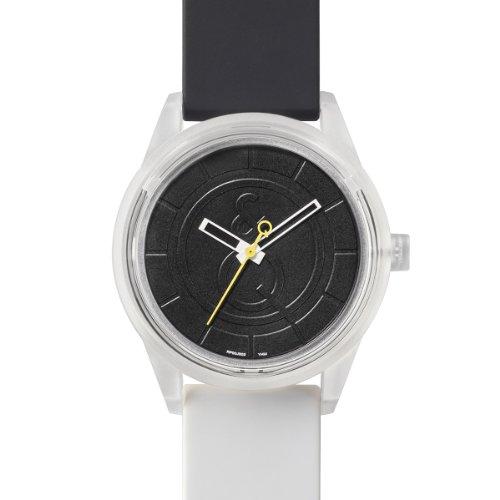 Q&Q SmileSolar - Reloj de Cuarzo Unisex, con Correa de Resina, Color