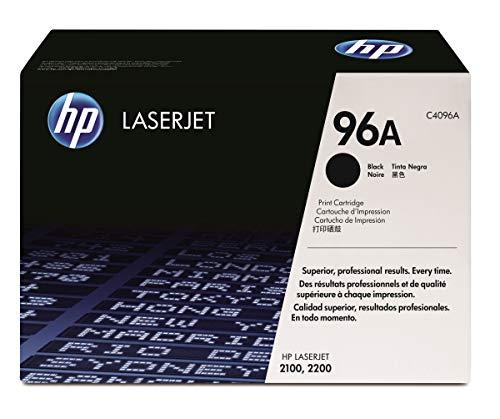 HP 96A (C4096A) Schwarz Original Toner für HP Laserjet 2100, HP Laserjet 2100m, HP Laserjet 2100tn