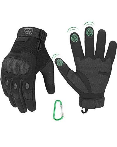 Taktische Handschuhe, Einsatzhandschuhe mit Hartem Fingergelenk und...