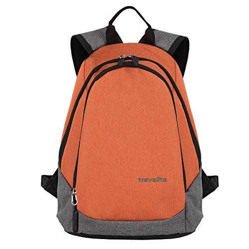 Travelite Basics kleiner Rucksack Daypack Backpack 96234-91, Farbe:Koralle