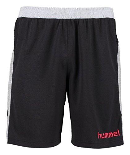 Hummel Herren Shorts New Nostalgia, Black/Grey Melange, S